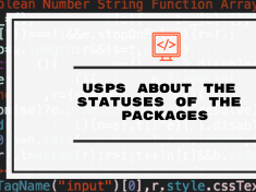 USPS about the statuses of the Packages