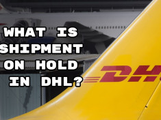 What is shipment on hold in DHL