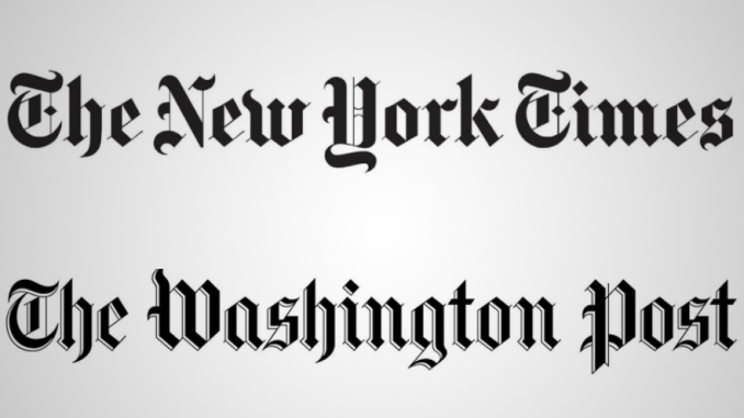 New York Times comparing with the Washington Post