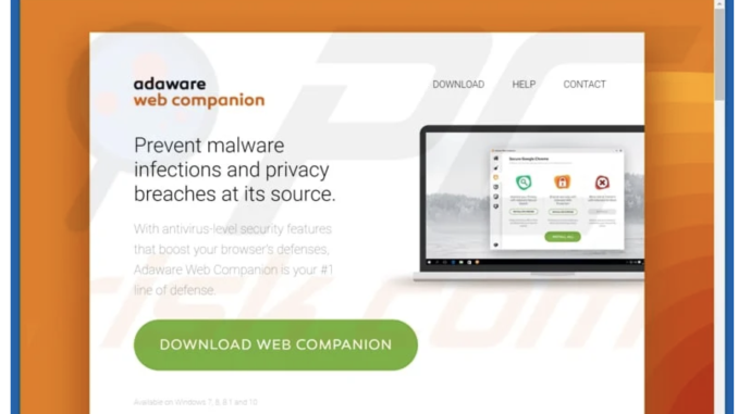 What is web companion software